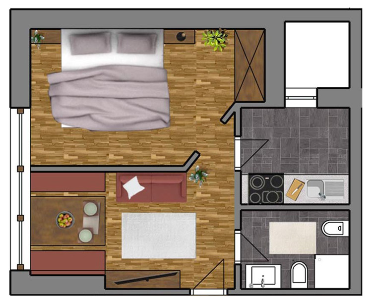 Room Plan Apartment 2